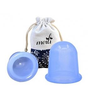 ماساژور فنجانی ضد سلولیت میلی MEILI 2pcs Silicone Anti Cellulite Cup Massager