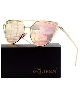 عینک آفتابی زنانه جی کوئین پولارایزد GQUEEN Women's Polarized Sunglasses MT3