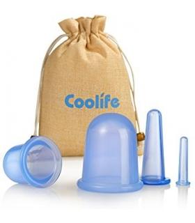 ماساژور فنجانی صورت و بدن کولایف Coolife Cupping Therapy Set Massager