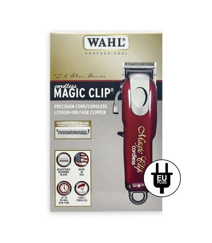 ماشین اصلاح سر و صورت وال مدل Wahl Professional 5-Star Cord/Cordless Magic Clip 8148