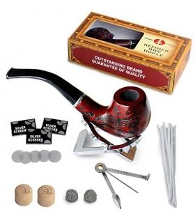 ست پیپ جویولدلف همراه کلیه لوازم جانبی Joyoldelf Tobacco Wooden Smoking Pipe Set W0300