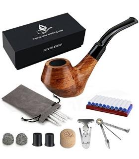 ست پیپ جویولدلف همراه کلیه لوازم جانبی Joyoldelf Wooden Tobacco Smoking Pipe Set XX027