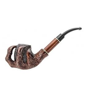 پیپ دست ساز یوکرینین سوونییر پنجه Ukrainian souvenir Hand Carved Tobacco Smoking Pipe Claw