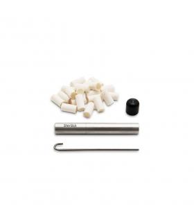 پیپ سیلور استیک سیگارت استایل بزرگ همراه کلیه لوازم جانبی SilverStick Large Cigarette Style Pipe
