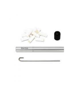 پیپ سیلور استیک سیگارت استایل باریک همراه کلیه لوازم جانبی SilverStick Slim Cigarette Style Pipe