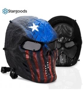 ماسک صورت استارگودز ایرسافت طرح اسکلت Stargoods Skeleton AirSoft Mask