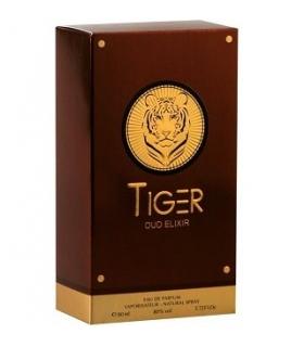 عطر و ادکلن زنانه دلوکس تایگر عود الکسیر Deluxe Tiger Oud Elixir For Women