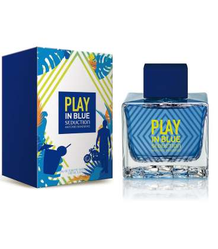 عطر و ادکلن مردانه آنتونیو باندراس پلی این بلو سداکشن Antonio Banderas Play In Blue Seduction for Men