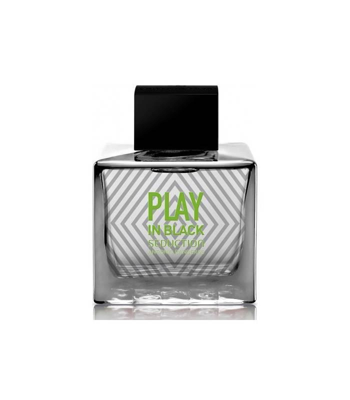 عطر و ادکلن مردانه آنتونیو باندراس پلی این بلک سداکشن Antonio Banderas Play In Black Seduction for Men