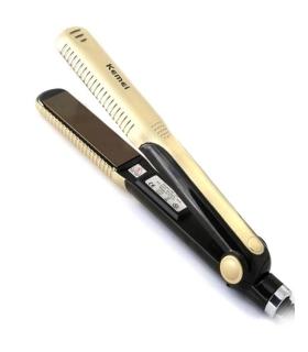 اتو موی سرامیکی کمی KEMEI KM-327 hair straightener