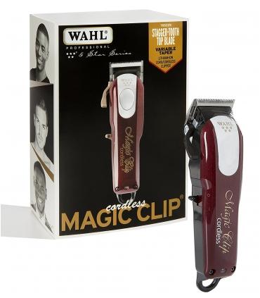 ماشین اصلاح سر و صورت مجیک کلیپ کردلس بی سیم وال مدل Wahl Magic Clip Cordless 8148