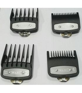 ست شانه فلزی ماشین اصلاح وال پک 4 عددی Wahl Professional Clipper Guide 4 Pack
