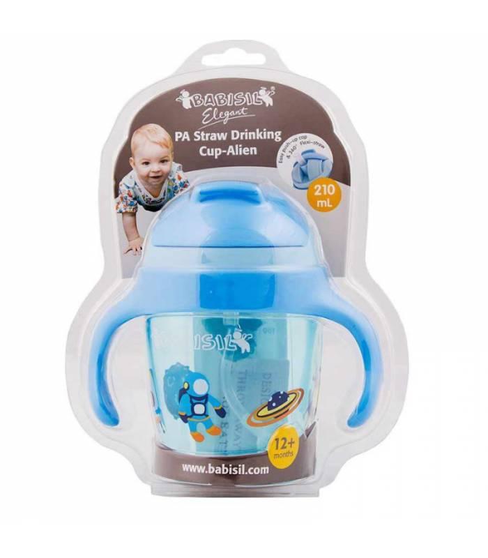 لیوان آبمیوه خوری دسته دار بیبی سیل Babisil BS5224 Baby Bottle