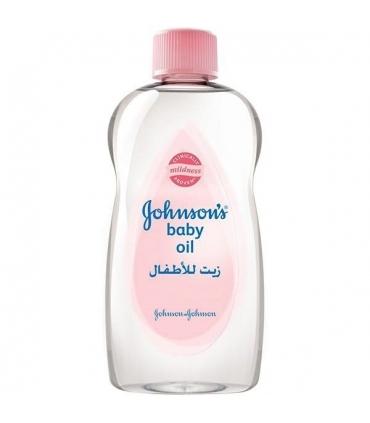 روغن بچه جانسون حجم 500 میلی لیتر Johnson Baby Care Oil 500ml