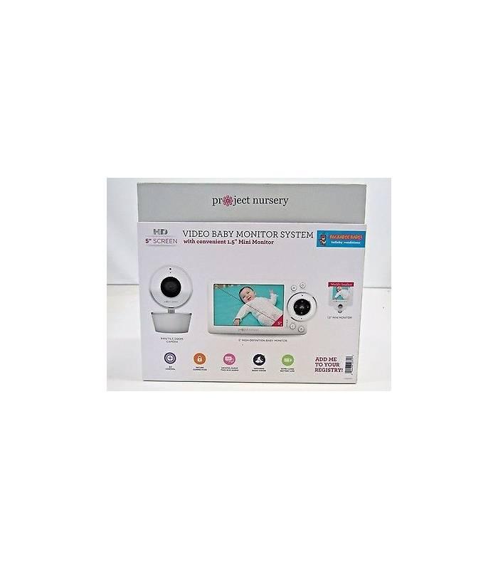 پیجر کودک پراجکت نرسری دو دوربین Project Nursery Baby Monitor