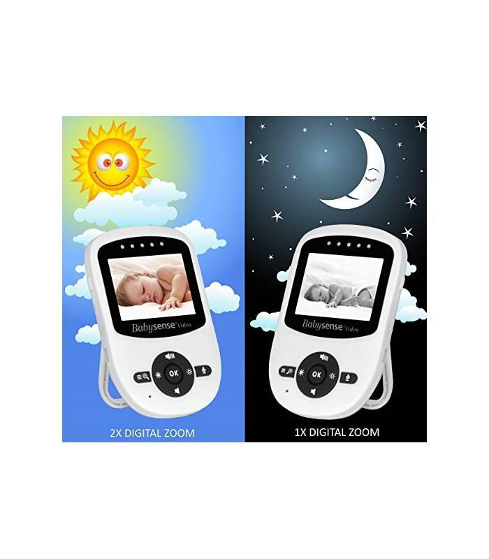 پیجر کودک بیبی سنس Babysense Video Baby Monitor