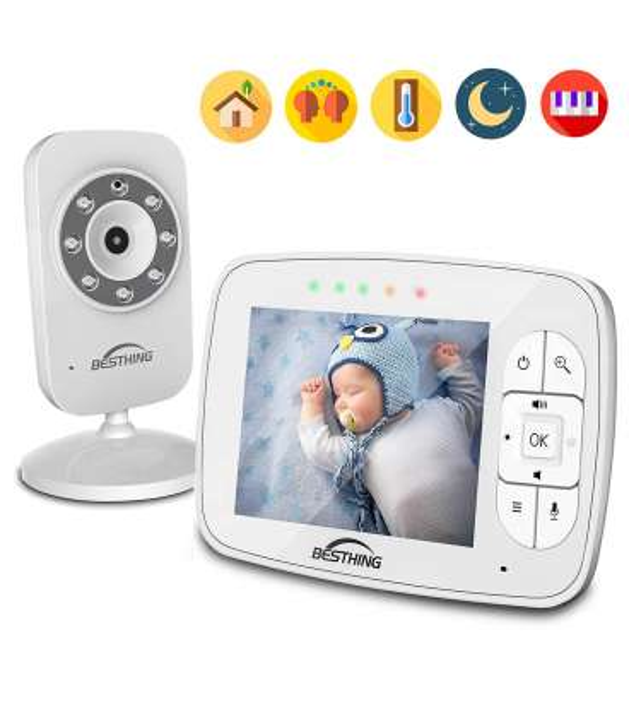 پیجر کودک بستینگ تصویری BESTHING Digital Baby Monitor