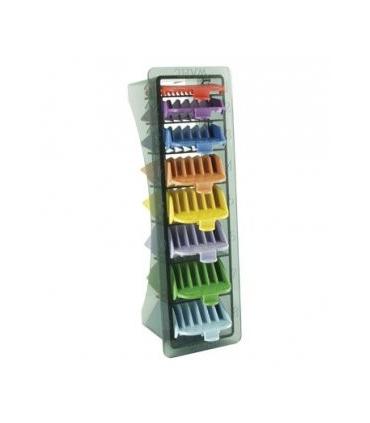 ست شانه رنگی ماشین اصلاح وال پک 8 عددی Wahl Professional Clipper Guide 8 Pack