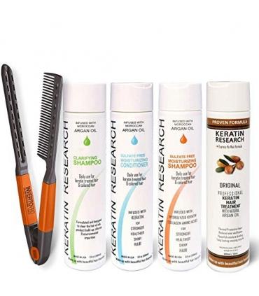 کراتین مو برزیلی کراتین ریسرچ Brazilian Keratin Hair Treatment keratin research