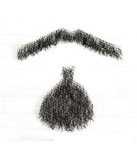 ریش و سبیل مصنوعی مای سکرت مدل MY-secret Human Hair Beard & Mustache E