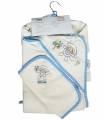 ست حوله 5 تکه مادرکر طرح میمون Mothercare 1145.2 Monkey Baby Towel Piece