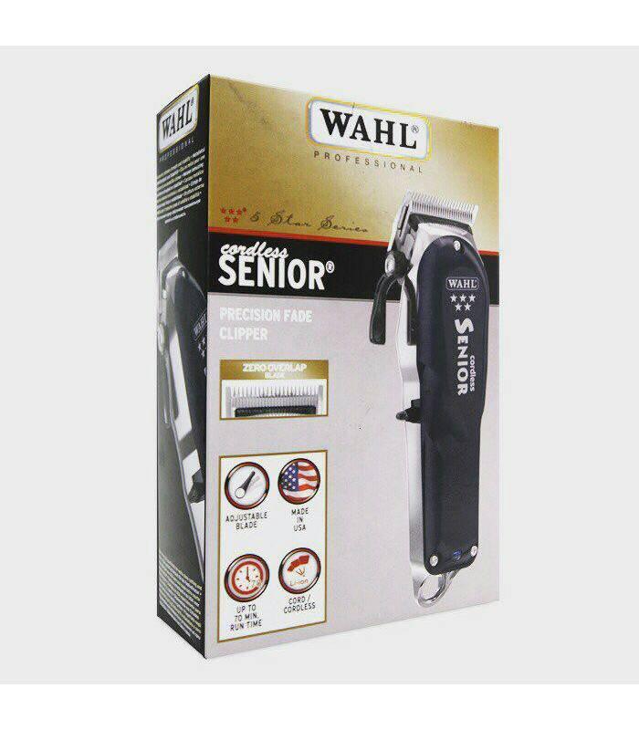 ماشین اصلاح سر و صورت وال سینیور WAHL 5 Star Cordless Senior Clip