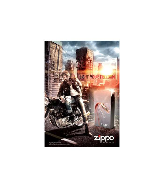 عطر مردانه زیپو Zippo On The Road Pour Homme for men