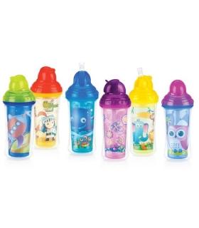 ليوان آبميوه خوری نی دار Baby Bottle ID10096