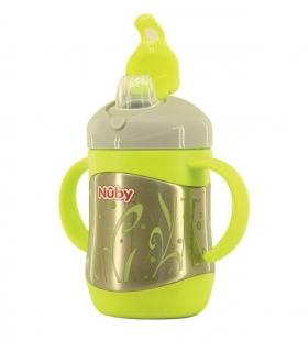 قمقمه کودک سبز نوبی Nuby ID 10260 Baby Bottle
