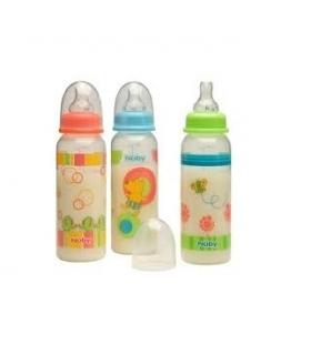شیشه شیر طرح دار کودک نابی Nubi ID1160 baby Bottle