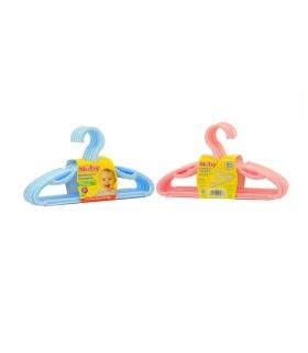 چوب لباسی کودک نابی بسته 10 عددی Nuby ID 128 Clothes Hanger Pack of 10