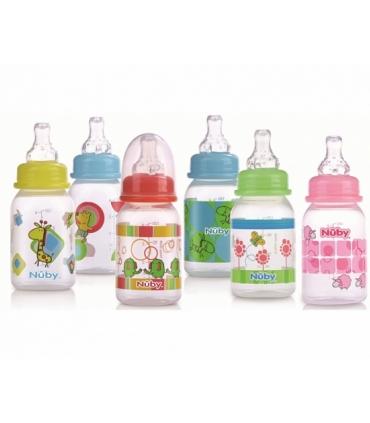 شیشه شیر طرح دار کودک نابی Nuby ID1477 Baby Bottle