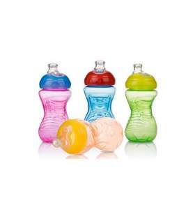 لیوان سوپاپ دار نابی Nuby ID9926 Baby Bottle