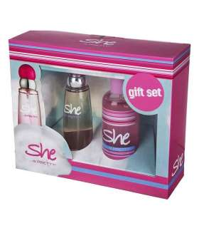 ست عطر زنانه هانکا شی Hunca She Is Pretty EDT 50ml Gift Set