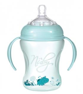 شیشه شیر دسته دار نابی Nuby NT 68002 Baby Bottle 240 ml