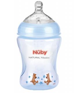 شیشه شیر کودک نابی Nuby NT68007 Baby Bottle 240ml