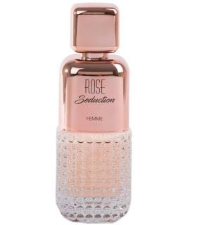 عطر و ادکلن زنانه فراگرنس ورد Fragrance World Rose Seduction EDP For Women