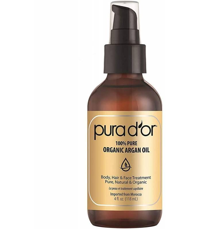 روغن آرگان پیورادور خالص PURA DOR Organic Moroccan Argan Oil