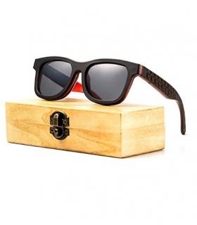 عینک آفتابی زنانه و مردانه شلو Sheloo Bamboo Wood Sunglasses For Men and Women