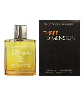 عطر مردانه ریو کالکشن تری دیمنشن Rio Collection Three Dimension for men