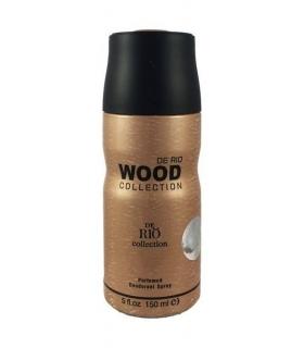 اسپری مردانه ریو کالکشن وود براون Rio Collection Wood Brown Spray for men