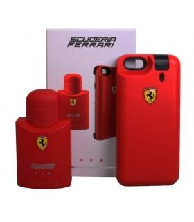 عطر و ادکلن مردانه فراری اسکودریا رد به همراه کاور آیفون Ferreri Scuderia Red EDT For Men