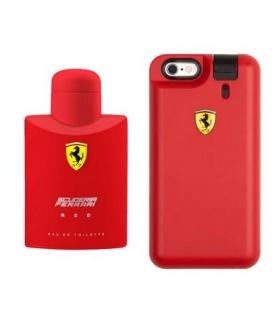 ست عطر مردانه فراری اسکودریا رد به همراه کاور آیفون Ferreri Scuderia Red EDT For Men