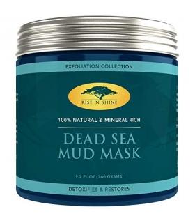 ماسک صورت رایز ان شاین لجن دریاییRise n shine Dead Sea Mud Mask for Face