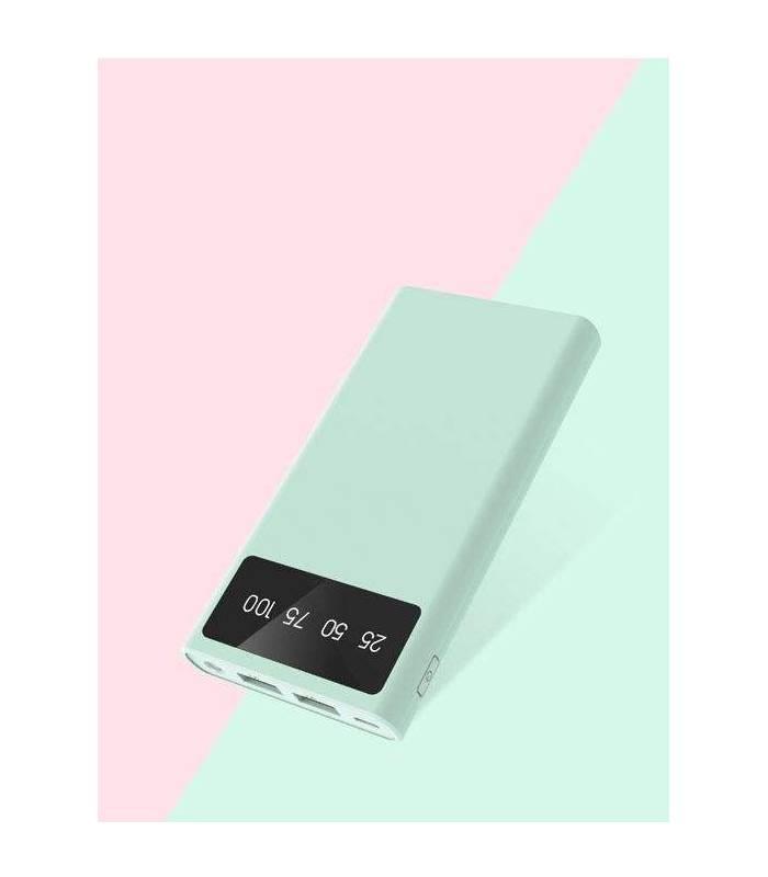 پاور بانک (شارژر همراه) ژیپین 10000 میلی آمپر مدل XiPin T21 10000mAh Power Bank T21