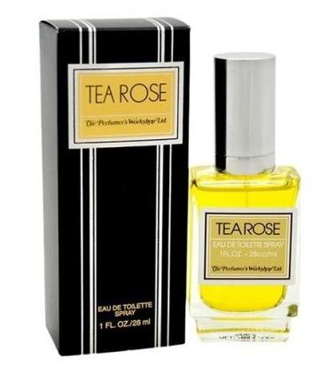 عطر و ادکلن زنانه و مردانه پرفیومرز ورک شاپ تی رز Perfumers Workshop Tea Rose