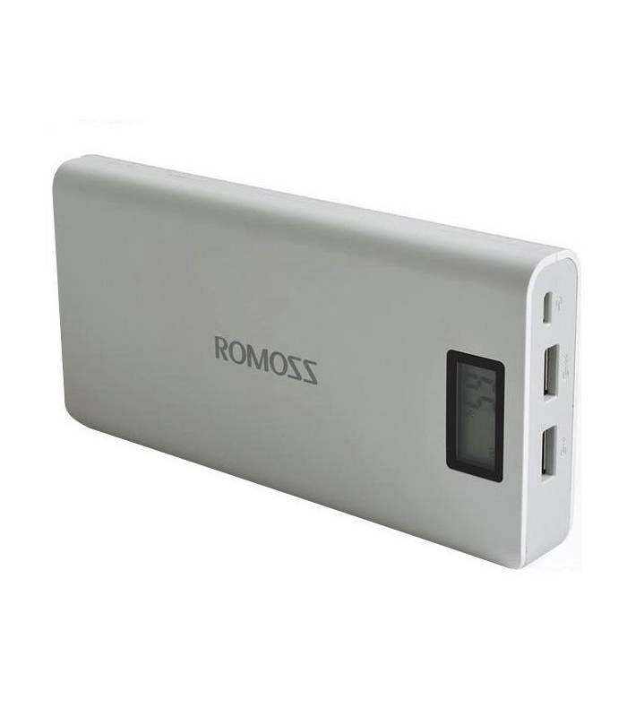 پاور بانک (شارژر همراه) روموس 16000 میلی آمپر ساعت Romoss Solo 6 Plus 16000mAh Power Bank