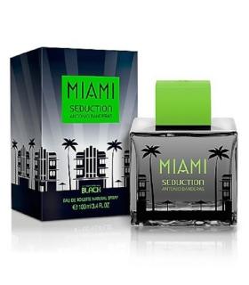 عطر و ادکلن مردانه آنتونیو باندراس میامی سداکشن بلک Antonio Banderas Miami Seduction Black EDT for Men