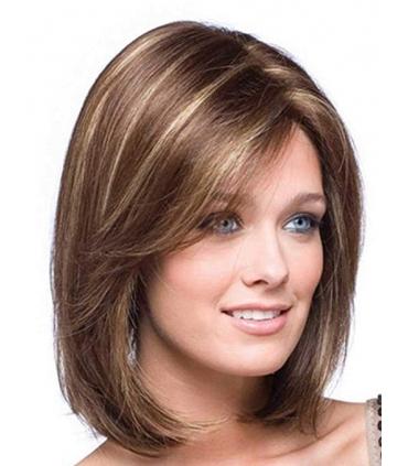 کلاه گیس زنانه کوتاه لخت Tsnomore Short Straight Fashion Women's Full Hair Wig