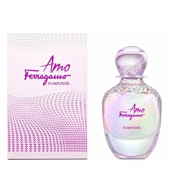 عطر و ادکلن زنانه سالواتور فراگامو آمو فراگامو فلاورفول Salvatore Ferragamo Amo Ferragamo Flowerful EDP for women